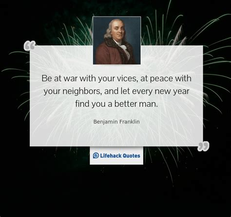 thought for the day let every new year find you a better man