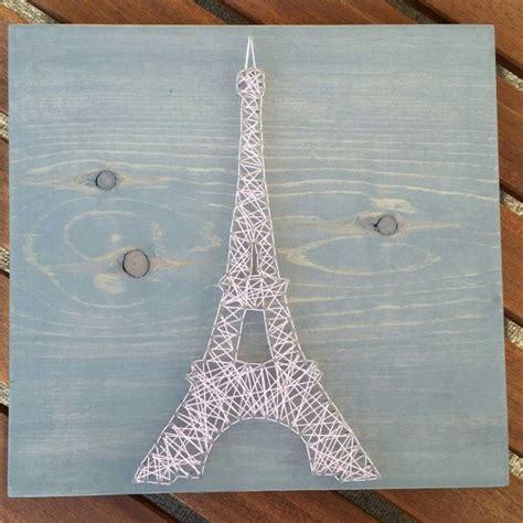 Eiffel Tower String - eiffel tower string mixed media home decor by