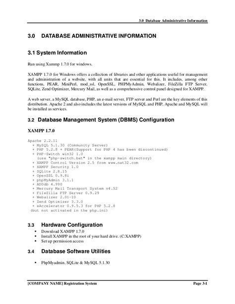database design proposal exles project proposal