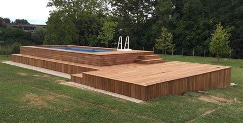 piscine da terrazzo prezzi piscine fuori terra in legno con piscine fuoriterra