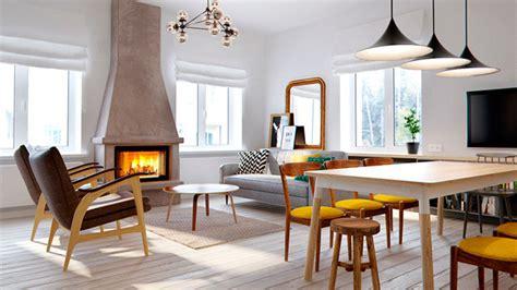 Rectangular Kitchen Design by Sal 243 N Comedor Moderno Con Cocina Integrada