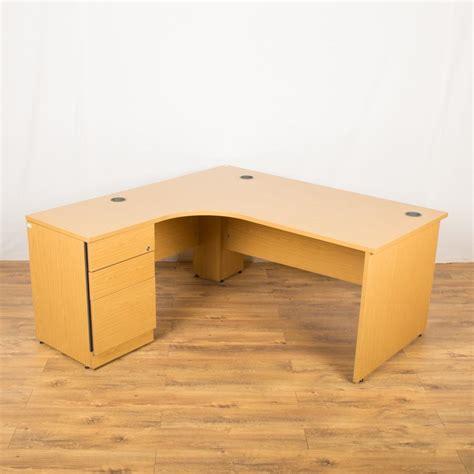 Used Corner Desk by Used Corner Desk Laminate Used Corner Desk L Shape Maple National Office Interiors And