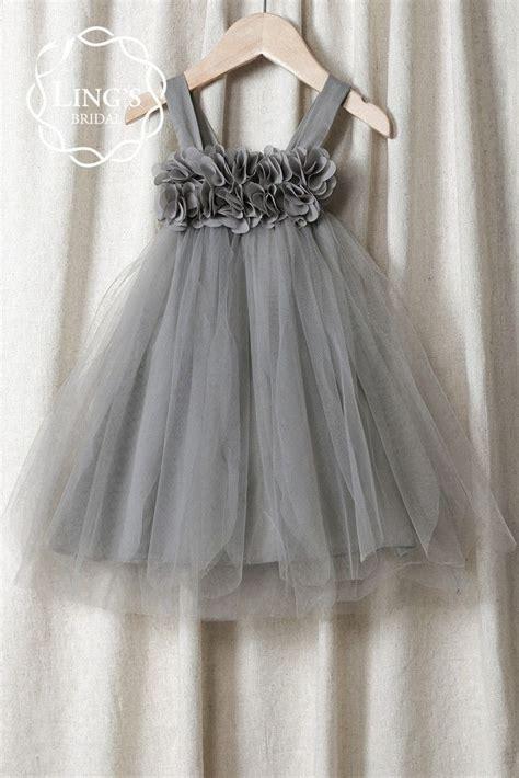 pattern for flower girl tutu dress pastel gray tutu flower girl dress ling s bridal