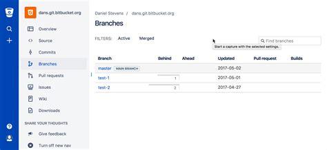 tutorial git atlassian learn branching with bitbucket cloud atlassian git tutorial