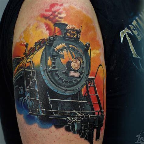 train tattoo designs 52 steam tattoos