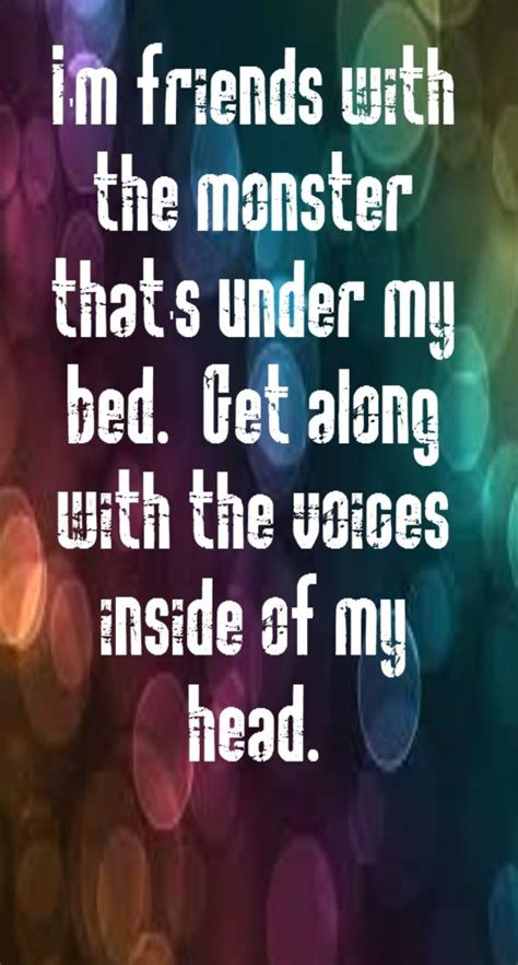 monster under my bed song famous eminem song quotes quotesgram