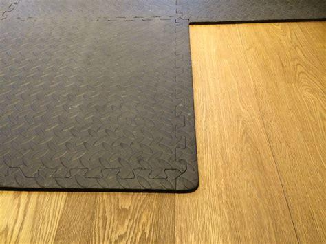 Floor Mats For Gyms by Interlocking Floor Mats Black Workshop Garage Floor Protection Ebay