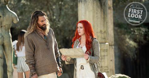 actress in aquaman 2018 amber heard on aquaman role mera not just making bubbles