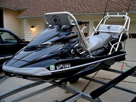 Jet Ski Fishing Rack