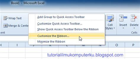 cara tutorial excel 2010 cara memulai microsoft excel 2010 tutorial ilmu komputerku