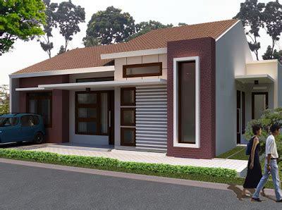 model rumah sederhana tapi kelihatan mewah  desain rumah minimalis