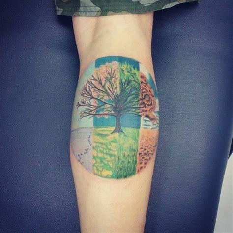 sch 246 nes kreis tattoo am unterarm mit verschiedenen