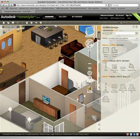 3d home design software autodesk autodesk releases homestyler beta design app architosh