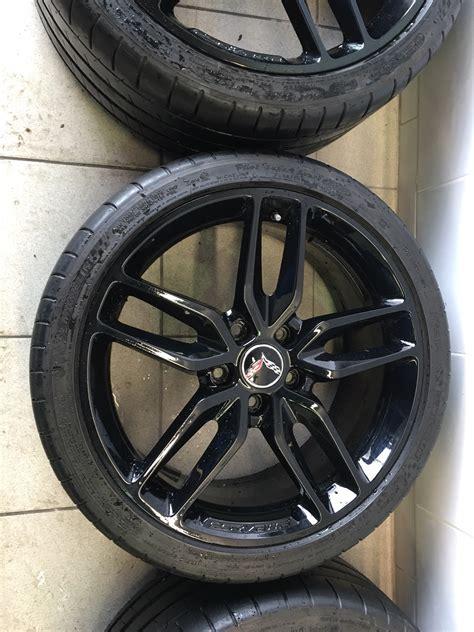 sold factory  black wheels michelin pilot super sport zp tires
