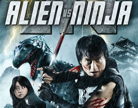 film ninja comedy alien vs ninja action comedy fantasy sci fi martial alien