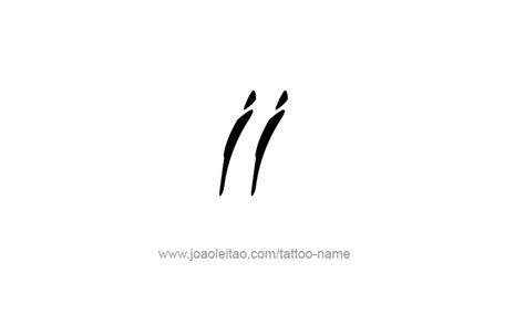 ii roman numeral tattoo designs tattoos with names
