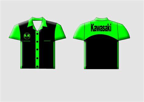 Kaos Kawasaki Murah Tshirt Murah Kawasaki Baju desain kemeja kawasaki ganti seragam