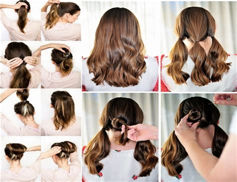 Pretty Hairstyles How To Do | how to do cute hairstyles fashion designer clothes