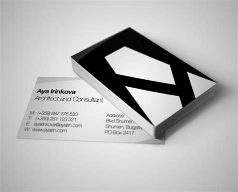 architects business cards 30 business card designs for architects part 2