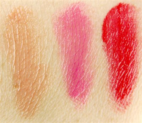 Hello Set Swatch hello an apple a day lip balm trio set review
