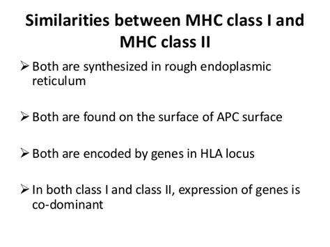 11 Similarities Of And similarities between class i and class ii