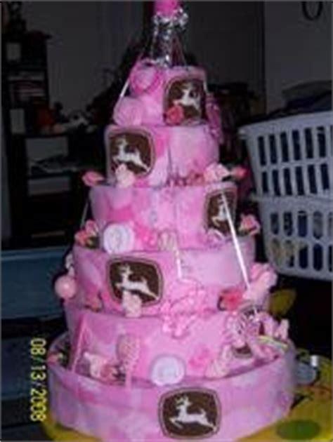Pink Deere Baby Shower by Pink Camo 4 Wheeler Cake Baby Bottom