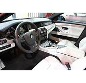 BMW M5 F10 Interior White Leather  POST
