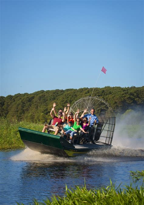airboat in kissimmee kissimmee florida the gateway to fun travelrepublic