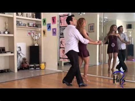 tutorial urban dance c salsa biginning pattern with salomon rivera cross body