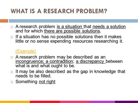 what is statement of the problem in research paper writing problem statement for research in science
