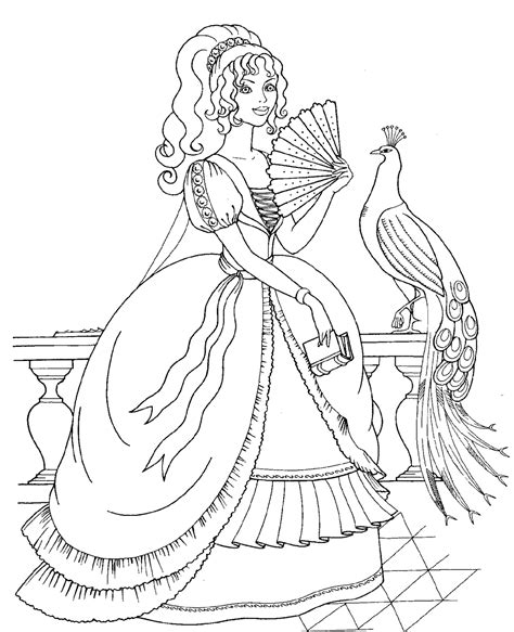 coloring pages princess realistic princess coloring pages www pixshark com