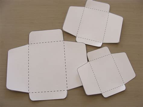 Envelopes Out Of Paper - something ivory diy mini envelopes