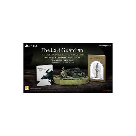 Ps4 The Last Guardian Collectors Edition the last guardian pol limited edition nowa ps4 x console sp z o o