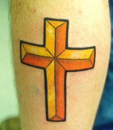 latin cross tattoo designs golden latin cross tattoo tattooimages biz