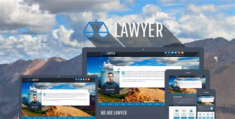 bootstrap themes lawyer 25 best responsive lawyer wordpress themes 2016