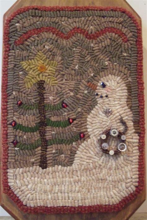 hooking rugs with wool hooked wool rug snow sweet