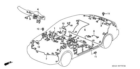 1996 honda civic wiring harness wiring diagram with