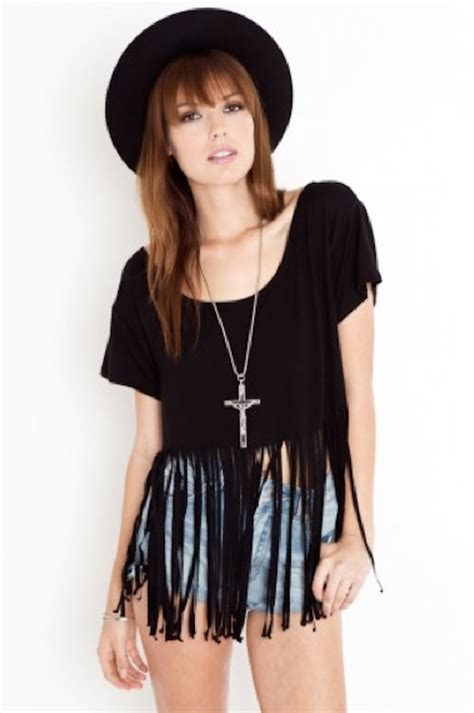 Fringes Shirt diy fringe t shirt ambrosia