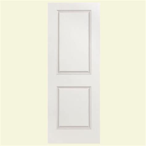 Interior Panel Doors Home Depot Masonite 30 In X 80 In Solidoor Smooth 2 Panel Solid Primed Composite Interior Door Slab