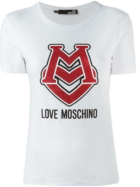 Moschino Tshirt the trueself moschino t shirts