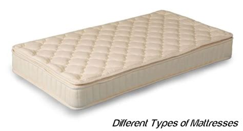 Types Of Mattresses by Different Types Of Mattresses