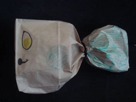 Paper Bag Whale Craft - whale paper bag children s ministry
