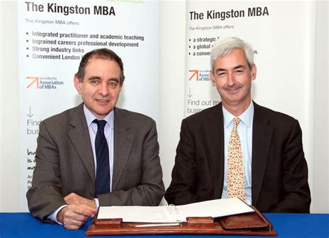 Kingston Mba by Kingston Launches Distance Learning Mba With Study