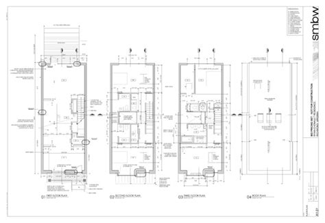 row home floor plan modern row houses plans joy studio design gallery best