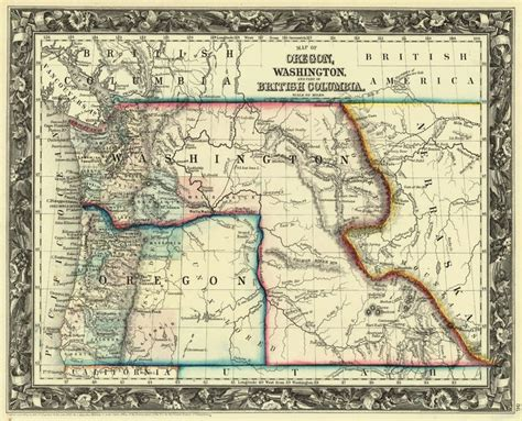 map of oregon idaho border 14 best images about oregon on indian tribes