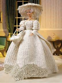 Miscellaneous crochet accessories turn of the century wedding dress