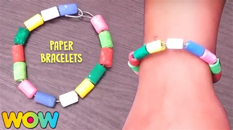 easy friendship crafts for how to make paper bracelets easy paper crafts diy for