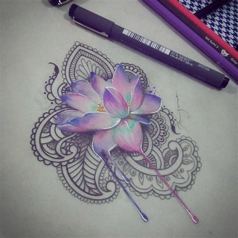 lotus tattoo instagram see this instagram photo by taizaneart 134 likes
