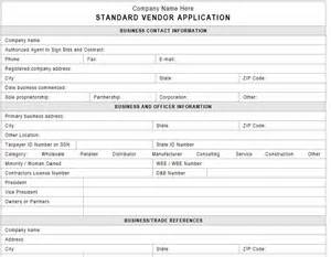 new vendor template procedures small business checklist