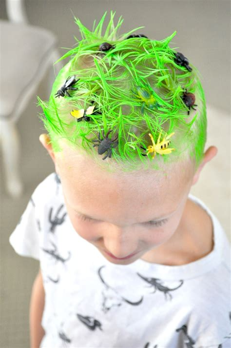 Craziest Claim Of The Week Fur Is Green by Kara S Ideas Hair Day Ideas Surf S Up Bugs
